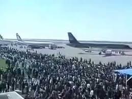 من الذاكرة الفلسطينية – مراسم إفتتاح مطار غزة الدولي 1998