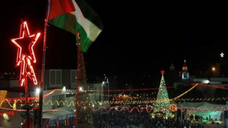 الفلسطينيون أولى بالاحتفال بعيد ميلاد السيد المسيح
